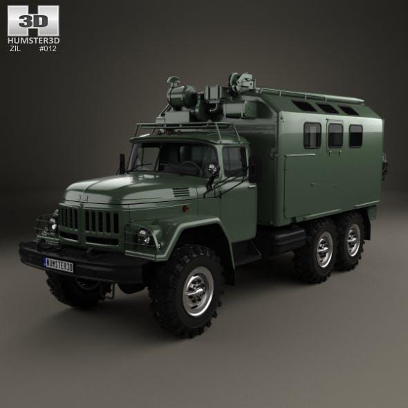 ZiL 131 Box Truck 1966