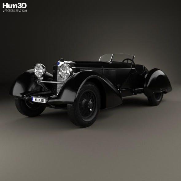 Mercedes-Benz 710 SSK Trossi Roadster 1930 - 3DOcean Item for Sale