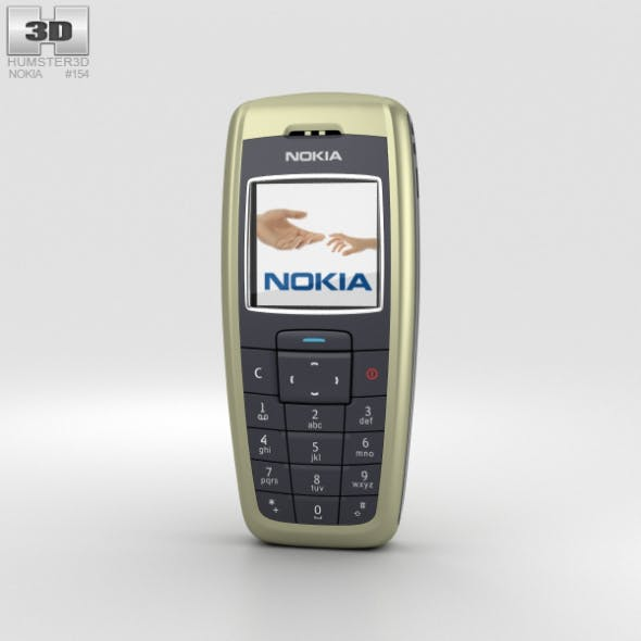 Nokia 2600 Tree Green - 3DOcean Item for Sale
