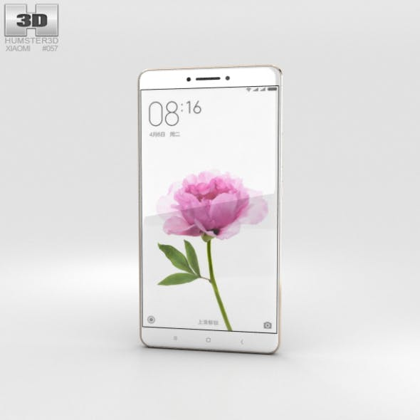 Xiaomi Mi Max Gold - 3DOcean Item for Sale