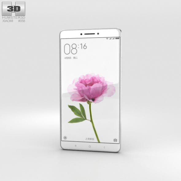 Xiaomi Mi Max Gray - 3DOcean Item for Sale