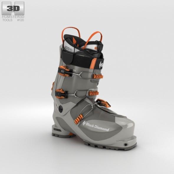Black Diamond Prime Ski Boot - 3DOcean Item for Sale