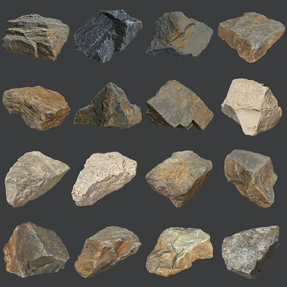 Stones Pack Volume 3
