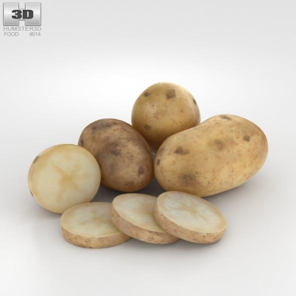 Potato - 3DOcean Item for Sale