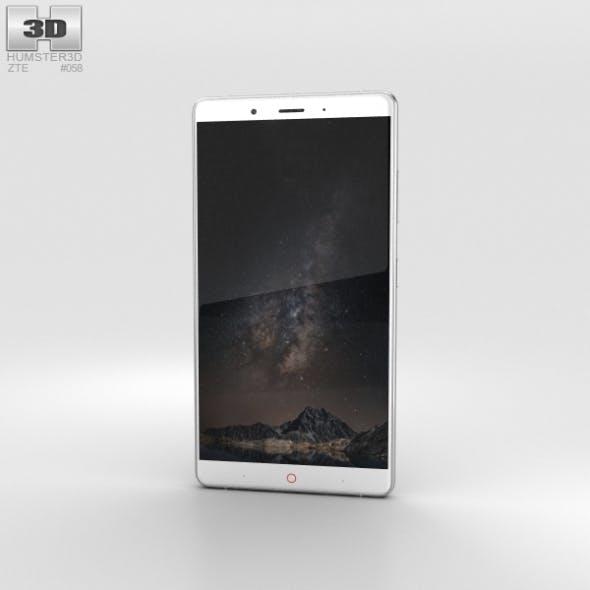 ZTE Nubia Z11 Max Silver - 3DOcean Item for Sale
