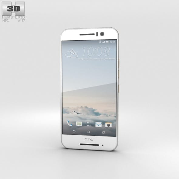 HTC One S9 Silver - 3DOcean Item for Sale