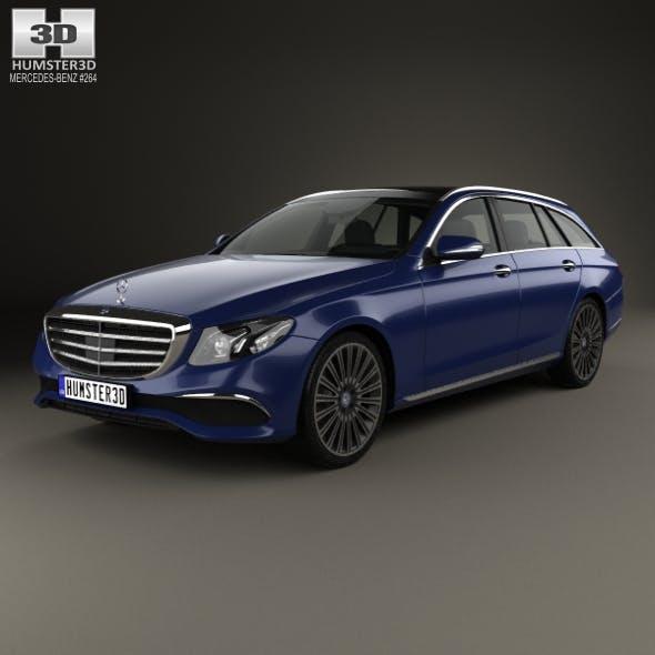 Mercedes-Benz E-Class (S213) Exclusive Line estate 2016 - 3DOcean Item for Sale