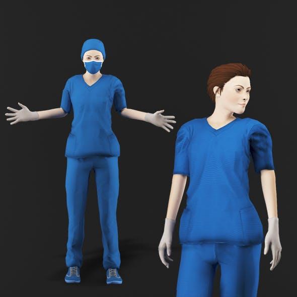 Nurse Woman1 - 3DOcean Item for Sale