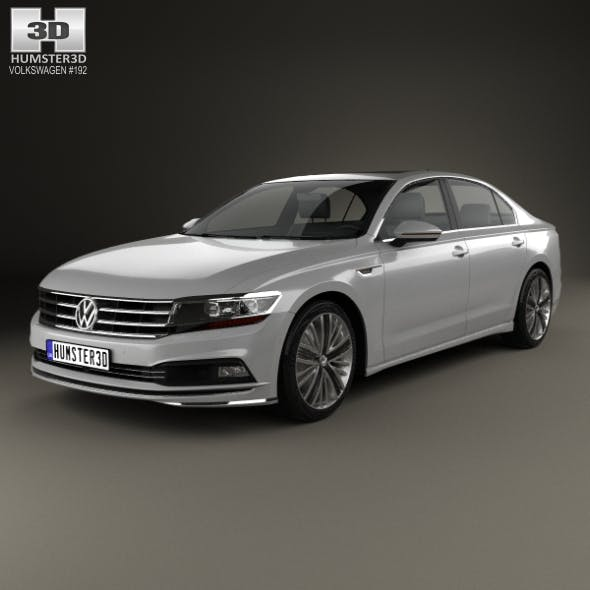 Volkswagen Phideon 2017 - 3DOcean Item for Sale
