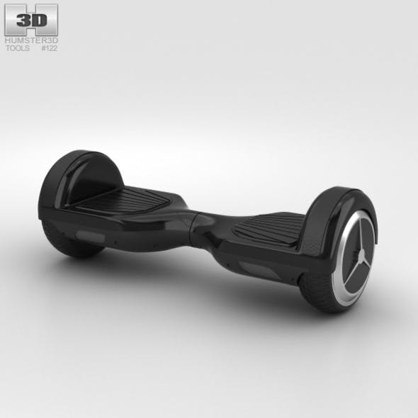 E-Board Scooter - 3DOcean Item for Sale