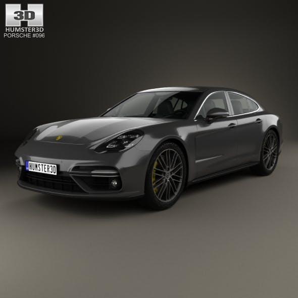Porsche Panamera Turbo 2017 - 3DOcean Item for Sale