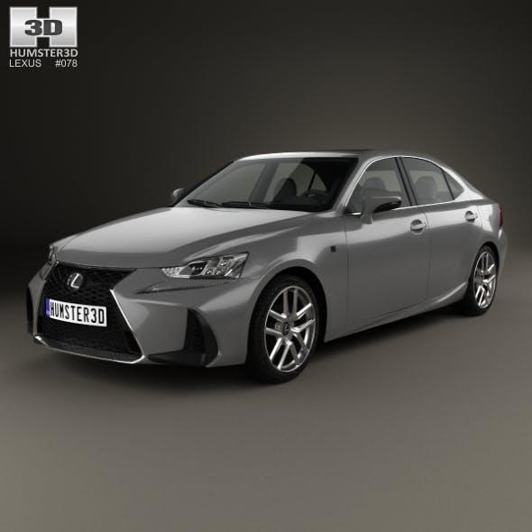 Lexus IS (XE30) 200t F Sport 2017 - 3DOcean Item for Sale