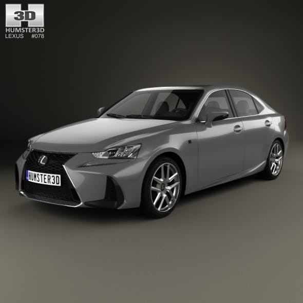 Lexus IS (XE30) 200t F Sport 2017