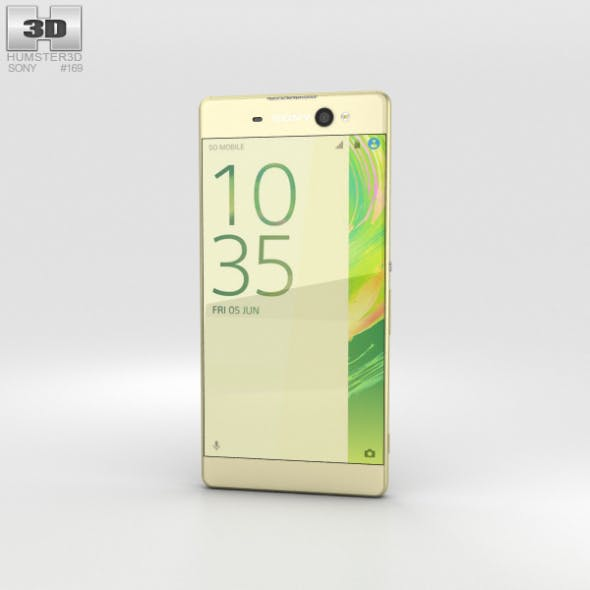 Sony Xperia XA Ultra Lime Gold - 3DOcean Item for Sale