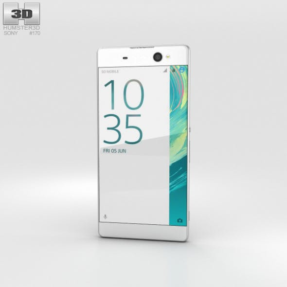 Sony Xperia XA Ultra White - 3DOcean Item for Sale