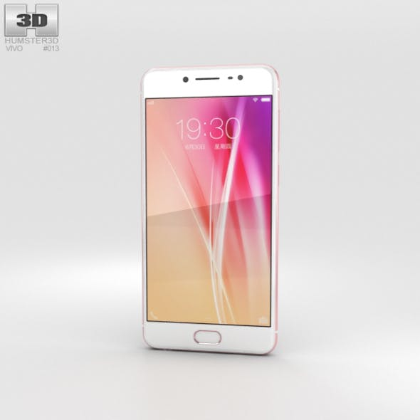 Vivo X7 Rose Gold