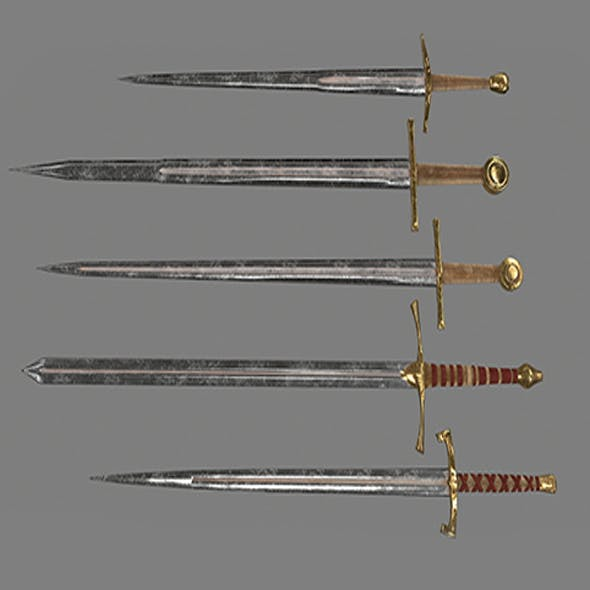 swords - 3DOcean Item for Sale