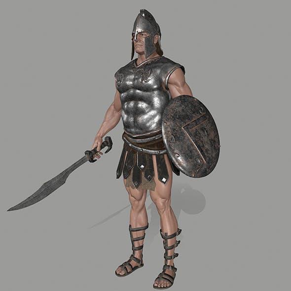 gladiator armor - 3DOcean Item for Sale