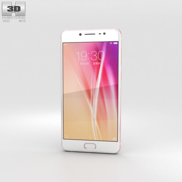 Vivo X7 Plus Rose Gold