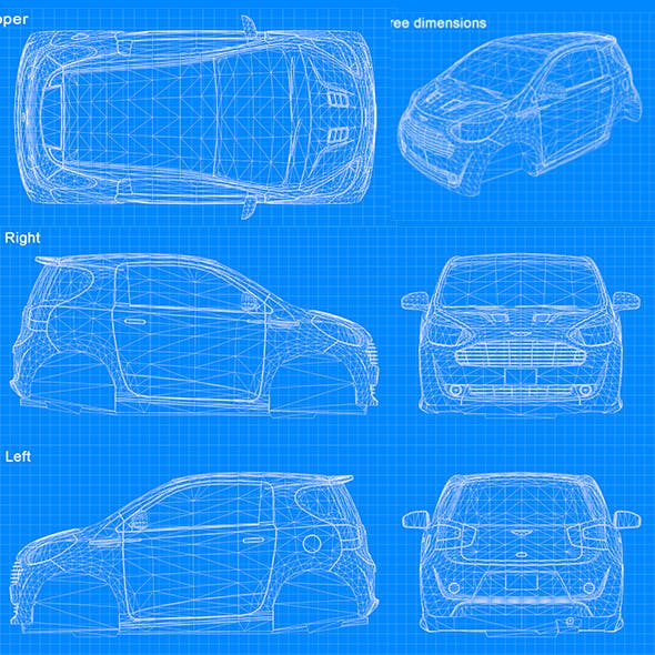 Blueprint Car - Cygnet 2011