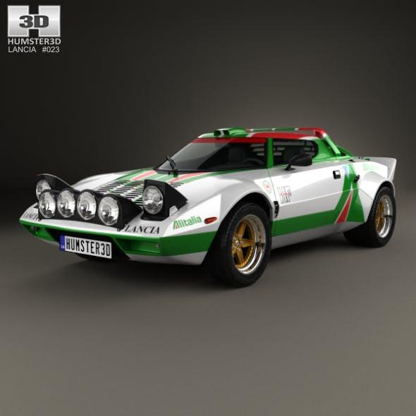 Lancia Stratos Rally 1972