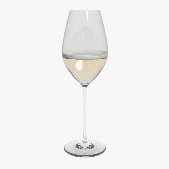 Glass Riedel Superleggero Champagne Wine With Wine