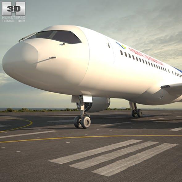 Comac C919 - 3DOcean Item for Sale