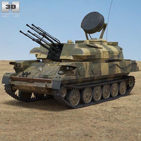 ZSU-23-4 Shilka - 3DOcean Item for Sale