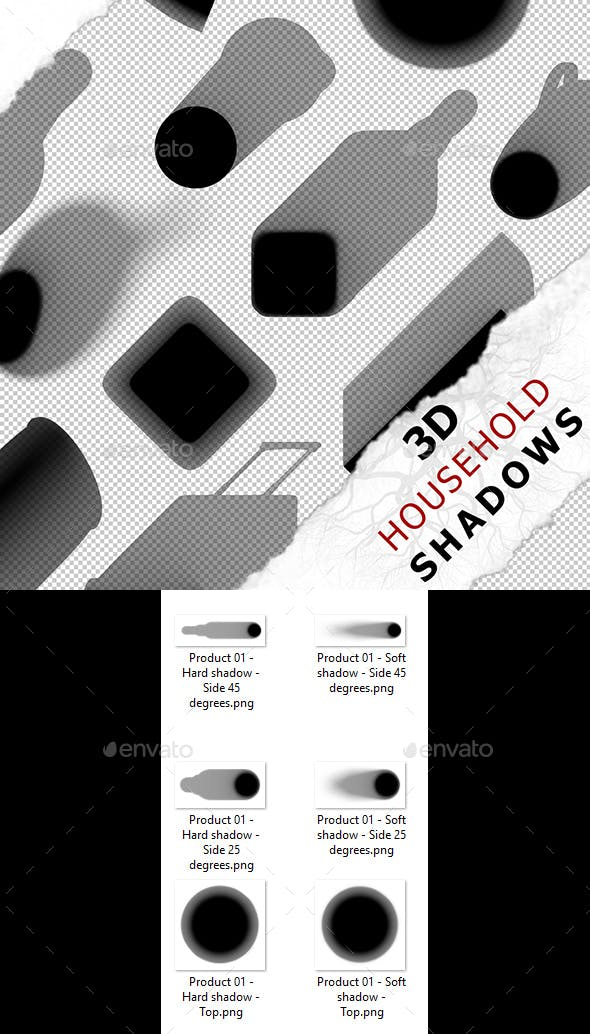 3D Shadow - Product 01 - 3DOcean Item for Sale