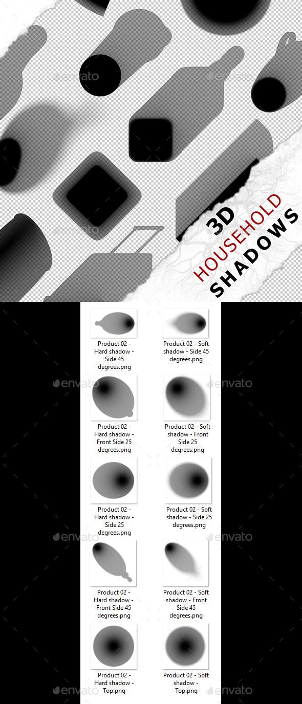 3D Shadow - Product 02 - 3DOcean Item for Sale
