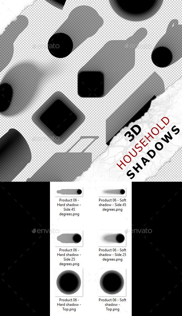 3D Shadow - Product 06 - 3DOcean Item for Sale