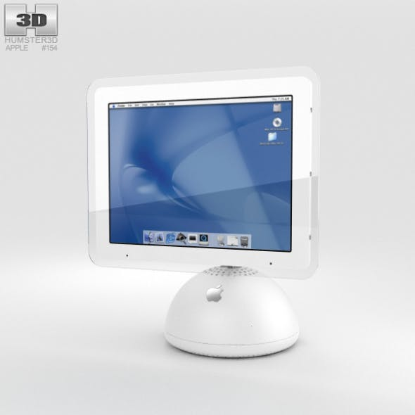 Apple iMac G4 2002 - 3DOcean Item for Sale