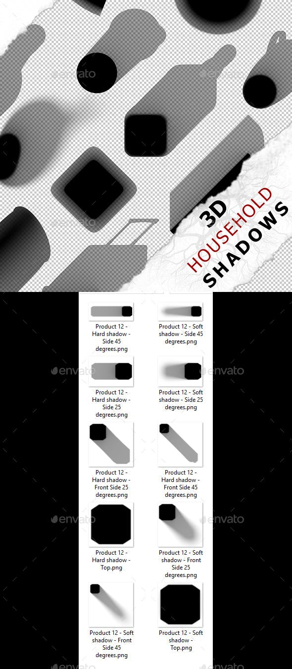 3D Shadow - Product 12 - 3DOcean Item for Sale