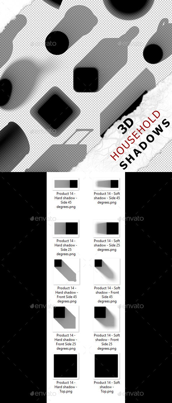 3D Shadow - Product 14 - 3DOcean Item for Sale