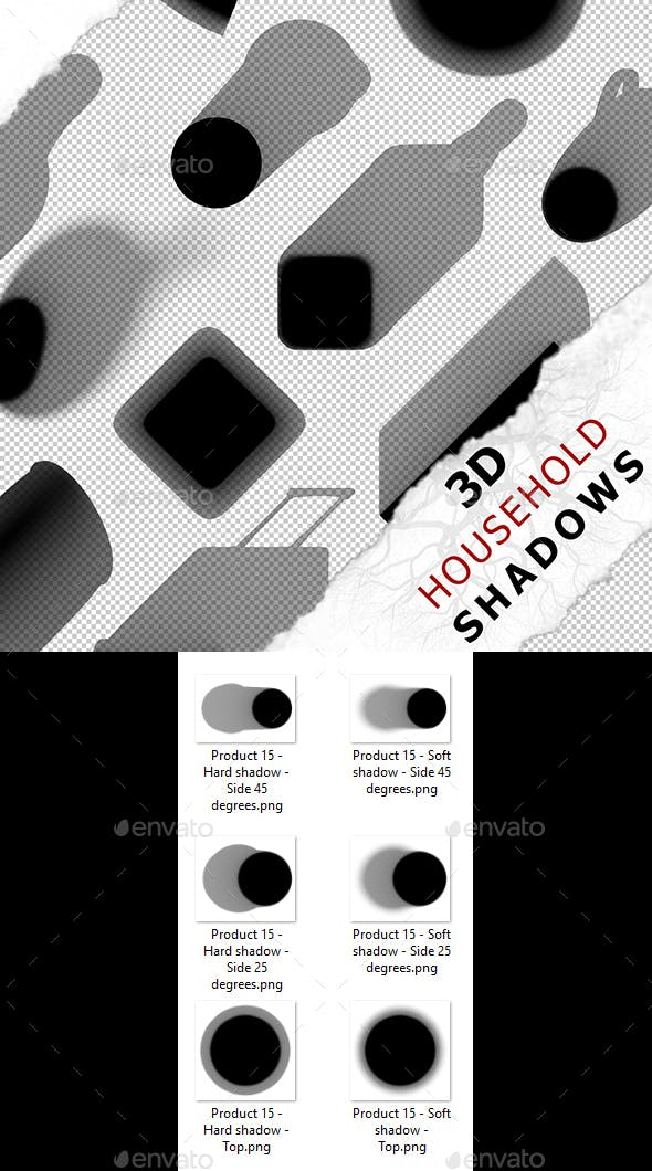 3D Shadow - Product 15 - 3DOcean Item for Sale