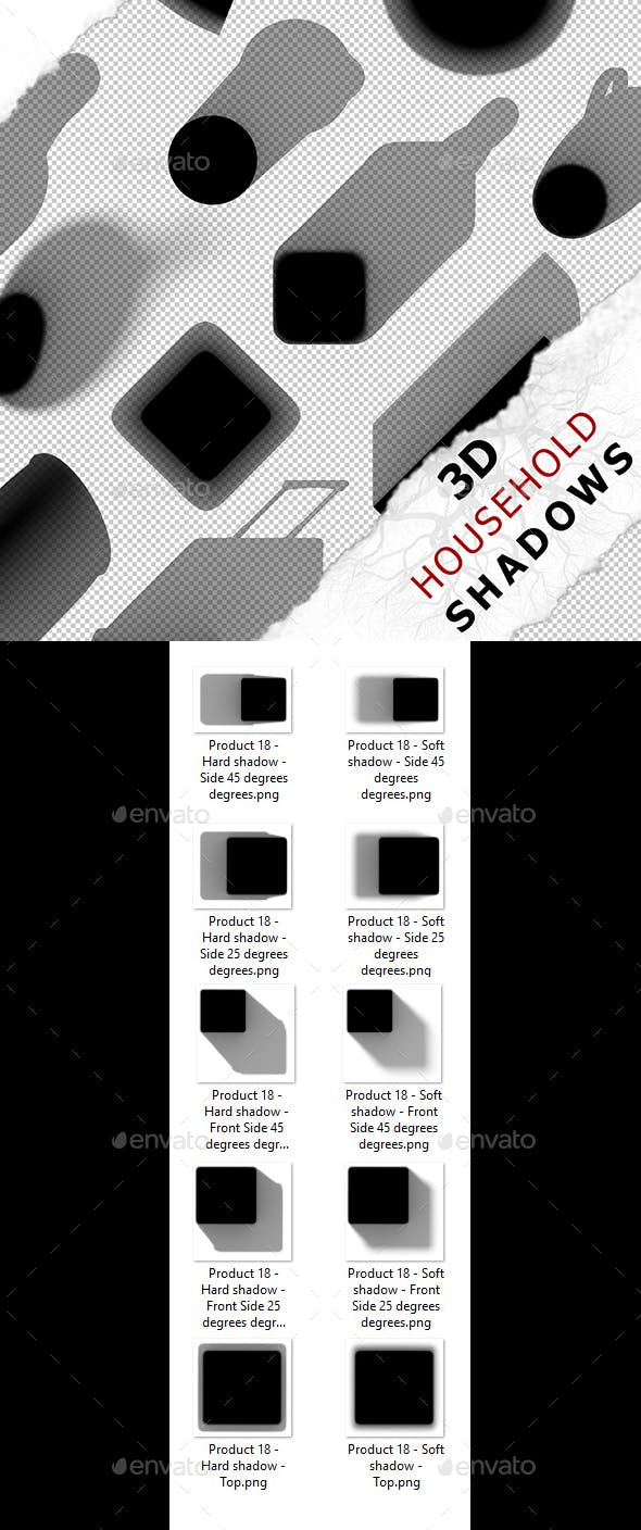 3D Shadow - Product 18 - 3DOcean Item for Sale