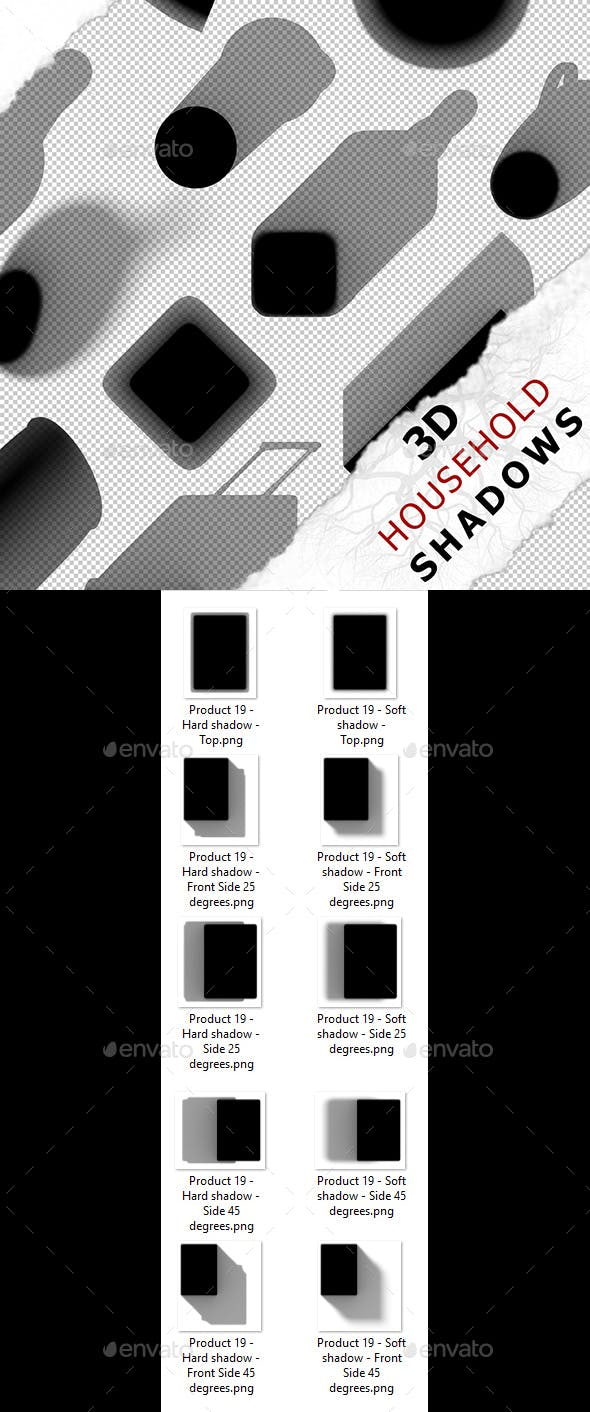 3D Shadow - Product 19 - 3DOcean Item for Sale