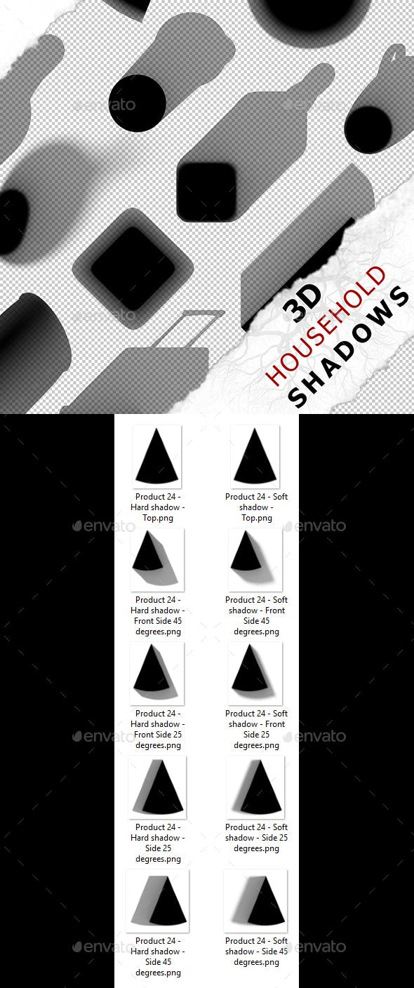 3D Shadow - Product 24 - 3DOcean Item for Sale