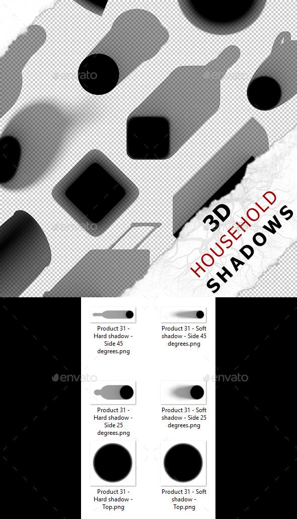 3D Shadow - Product 31 - 3DOcean Item for Sale