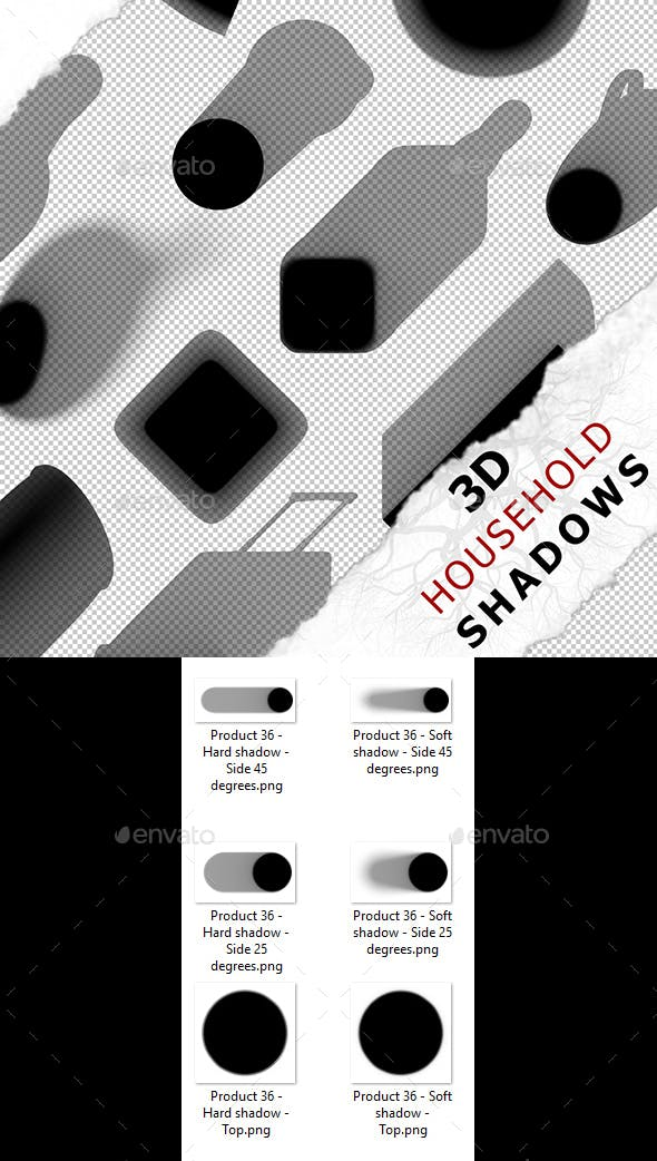 3D Shadow - Product 36 - 3DOcean Item for Sale