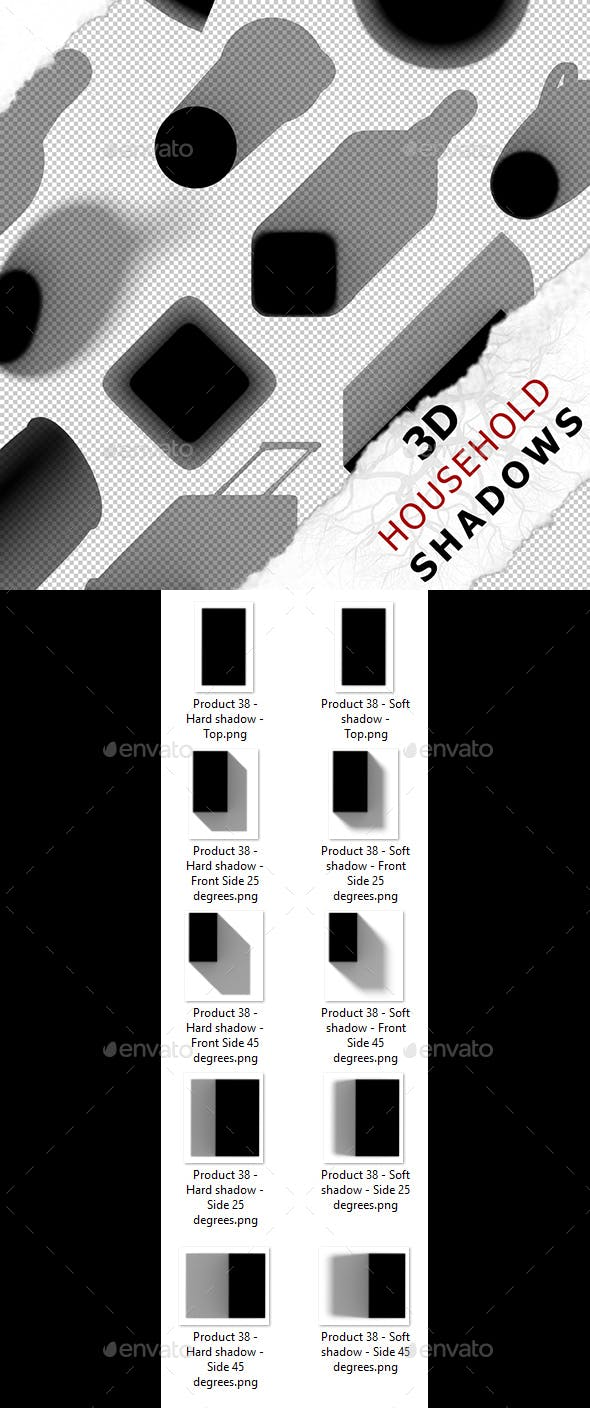 3D Shadow - Product 38 - 3DOcean Item for Sale