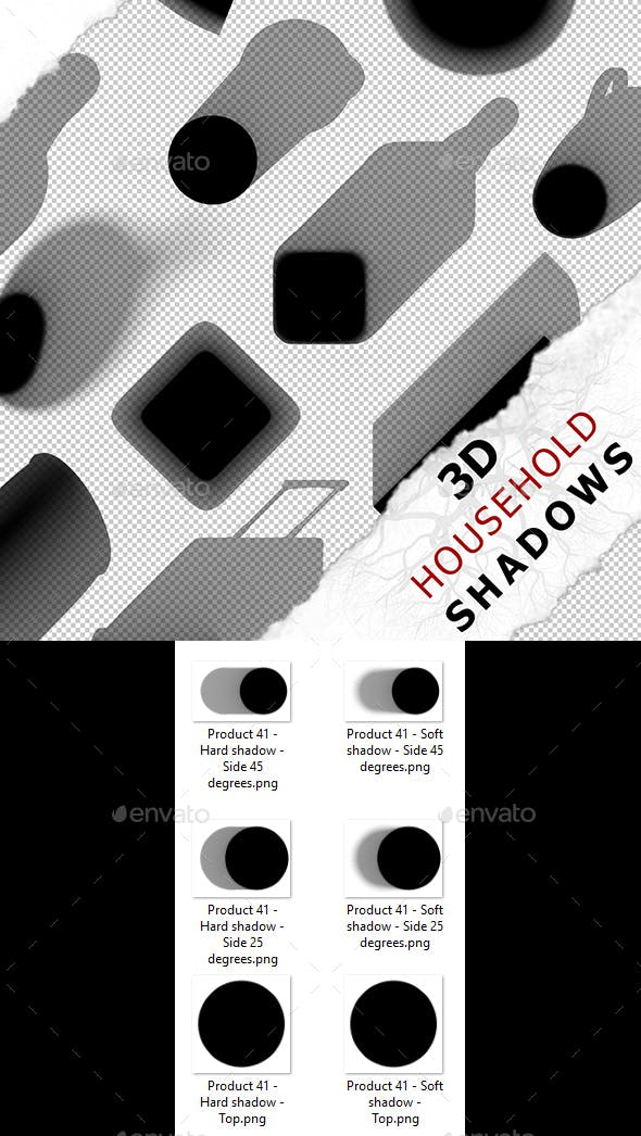 3D Shadow - Product 41 - 3DOcean Item for Sale