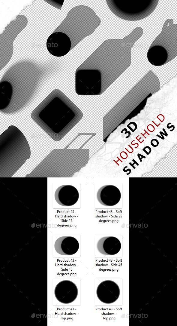3D Shadow - Product 43 - 3DOcean Item for Sale