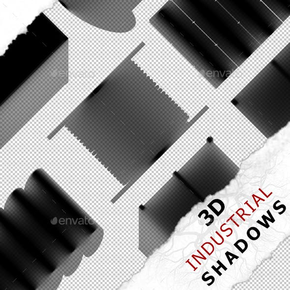 3D Shadow - Pipes 01