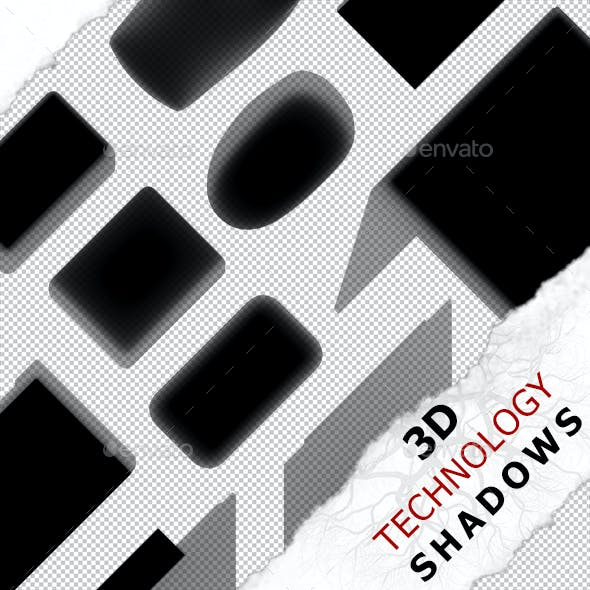 3D Shadow - Keyboard 01