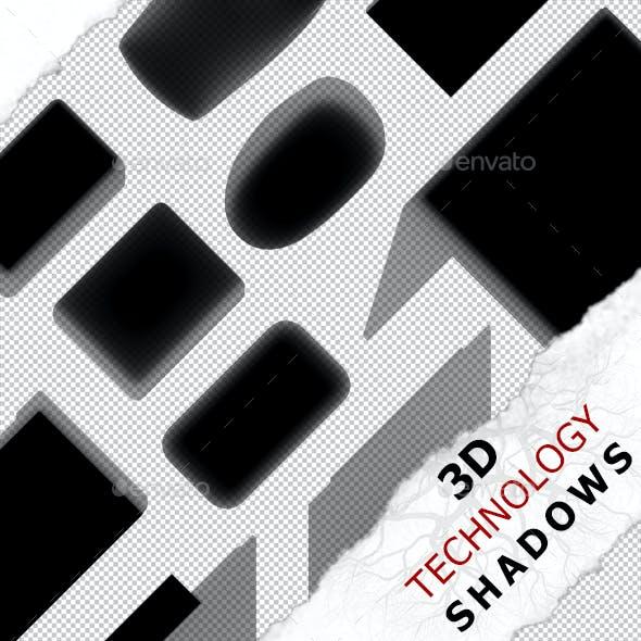 3D Shadow - Keyboard 02