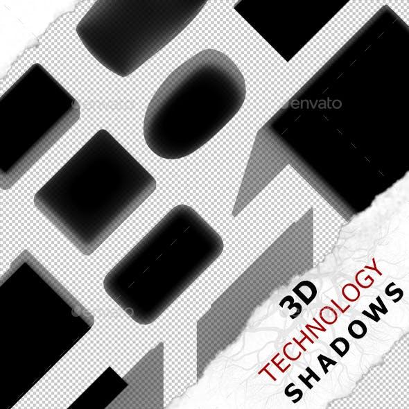 3D Shadow - Laptop 02