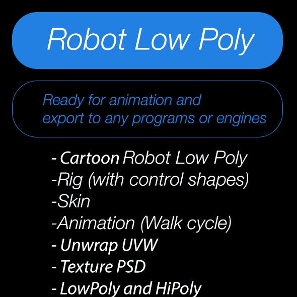 Robot_LowPoly