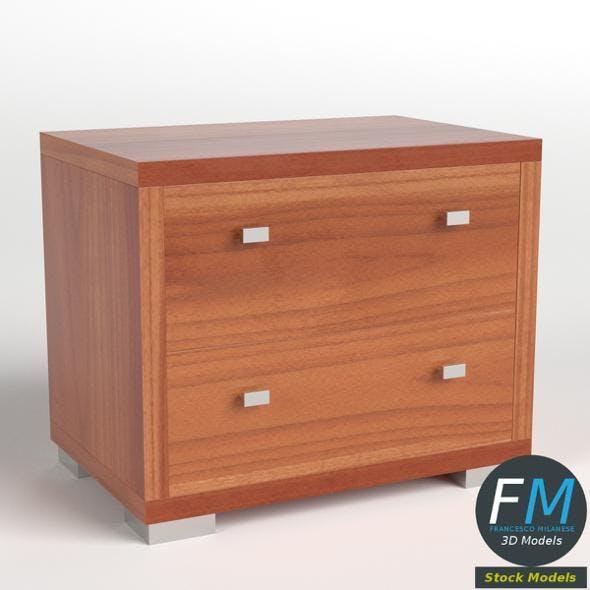 Bedside Table 2 - 3DOcean Item for Sale