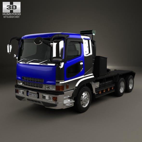 Mitsubishi Fuso Super Great (FP) Tractor Truck 1996